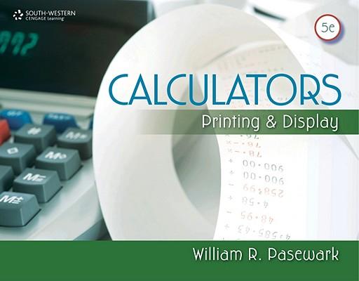Calculators By Pasewark, William R.